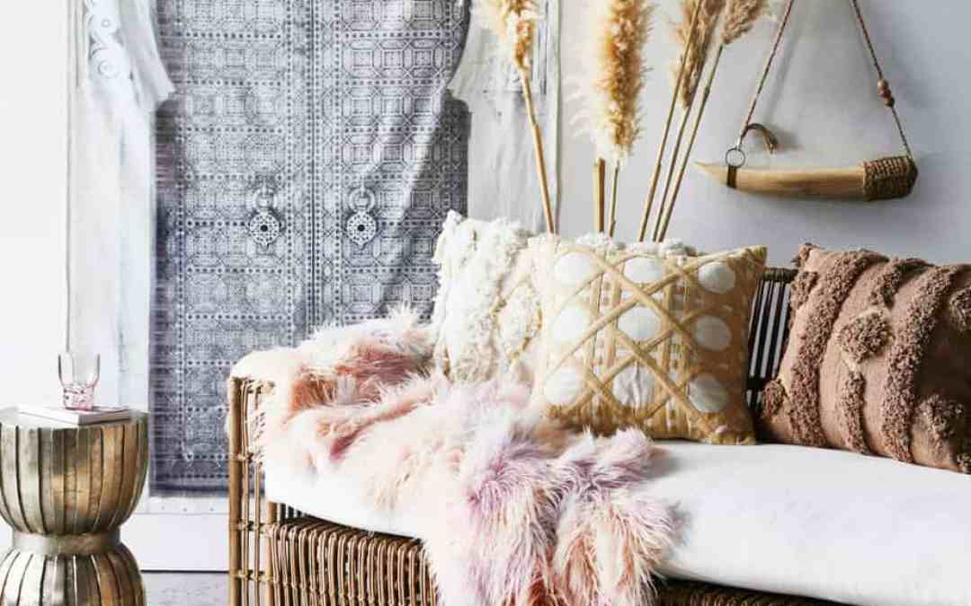 Rockstar Interiors with Bohemian Glamour