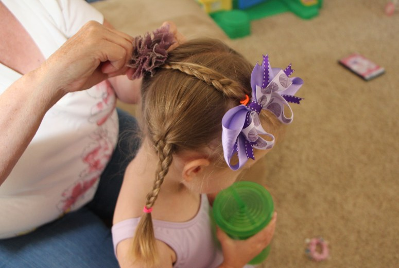 Hair Styles For Little Girls That Actually Stay In! - The Grandma Style