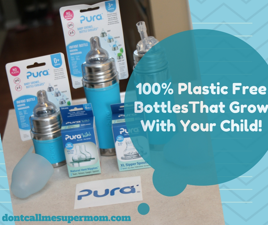 Transitional, plastic free bottles that grow with your child!