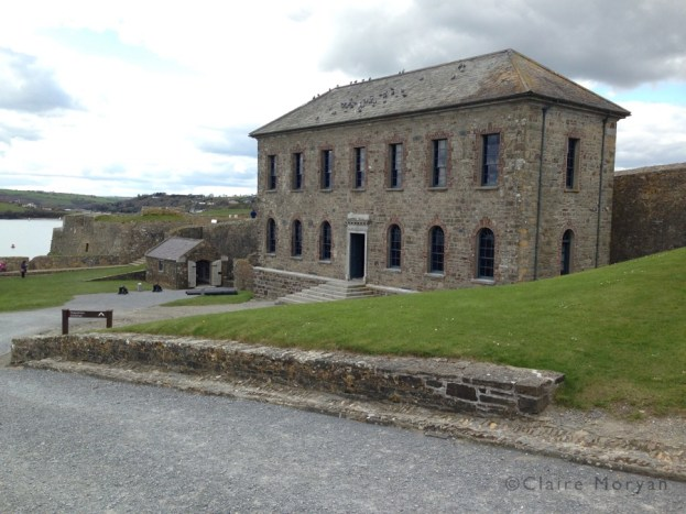 Governor's House. Charles Fort. Image: Claire Moryan
