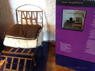 Campaign Bed. Charles Fort. Image: Claire Moryan