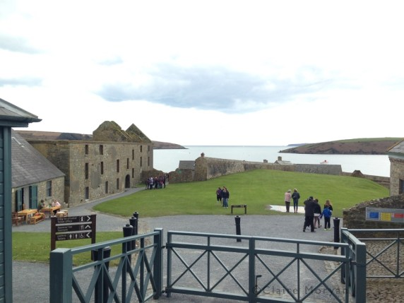 Entry before buying tickets. Charles Fort. Image: Claire Moryan