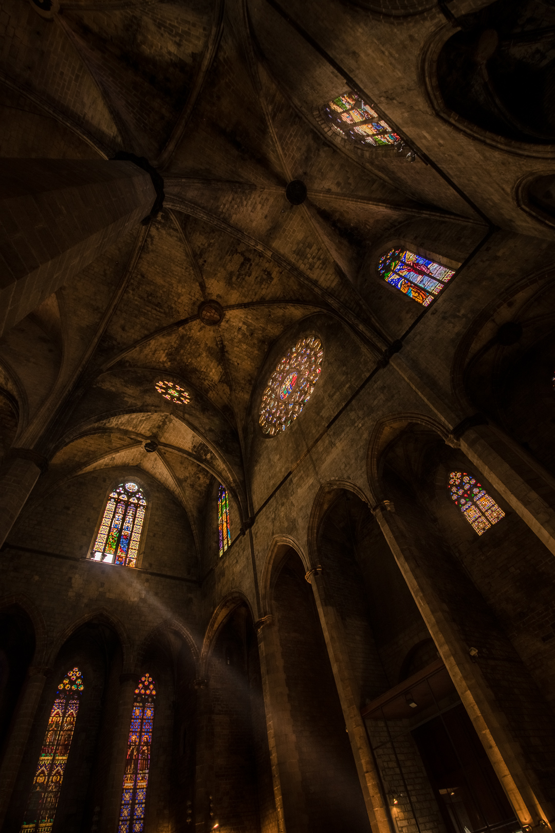 "After inhaling the great story from Ildefonso Falcones ""Cathedral of the Sea"" I could not resist and I needed to visit the original church in Barcelona. The story and the architecture inspired me to this photo which was selected one year later for the second part of the book as cover! Is it an honor for me and I can't still believe it..."