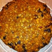 Nectarine Blueberry Pie Meets A Crisp