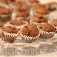 Pumpkin and Chocolate Chip Mini Muffins Featuring Trader Joe's Pumpkin Bar Baking Mix