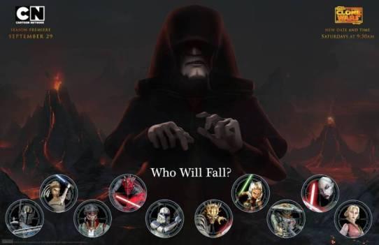 Clone Wars Star Wars Season 5 who will fall