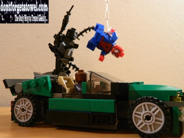 LEGO Spider-Man Spider-Cycle Chase 10
