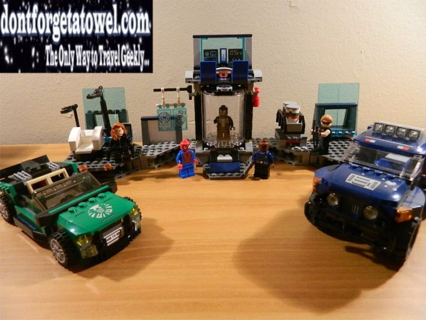 LEGO Spider-Man Spider-Cycle Chase 11