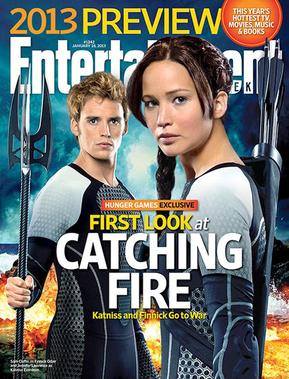 hunger games catching fire ew cover