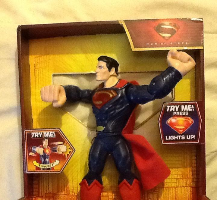 mega punch superman