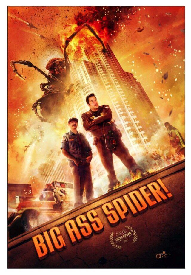 big ass spider poster