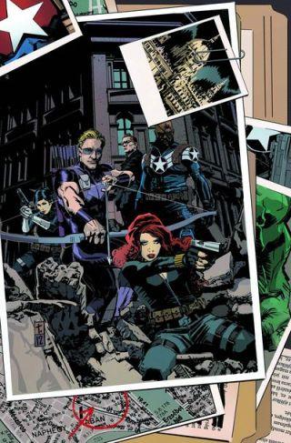 secret avengers 1 cover