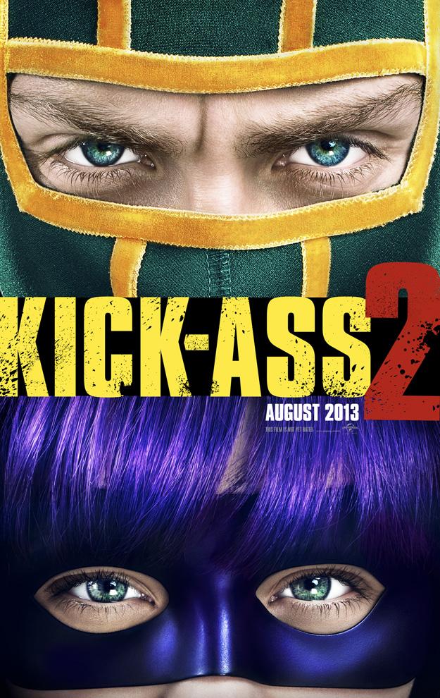 kick ass 2 movie poster