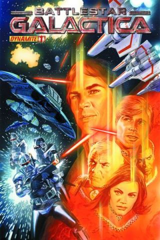 BattleStar Galactica 1 Cover