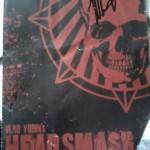 Head Smash signed comic