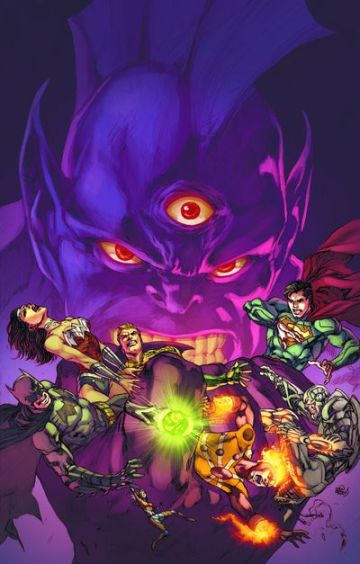 Justice League 20 Cover