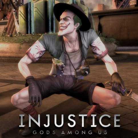 The Killing Joke Joker Injustice 2