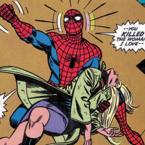 spider-man death of gwen stacey