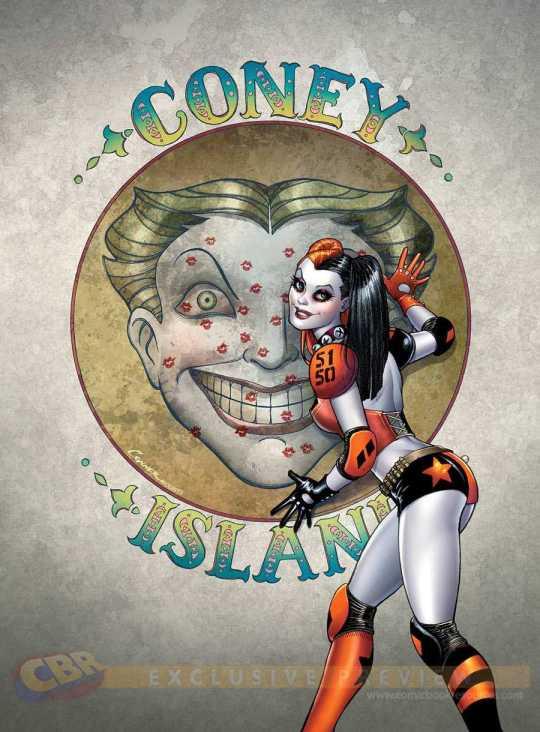 Harley Quinn Comic Sereis