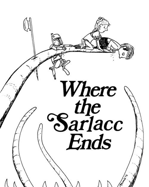 Where the Sarlacc Ends