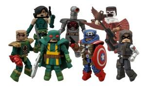 Diamond Select Captain America Minimates