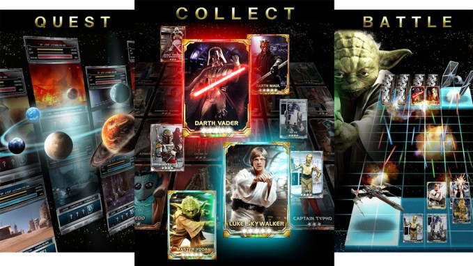 Konami Card Star Wars