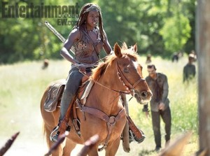 michonne and horse