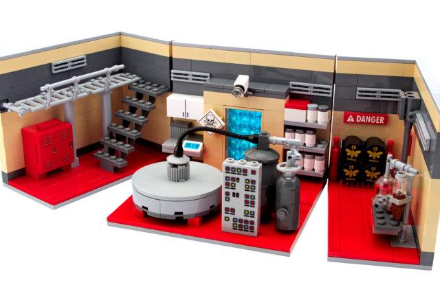 Lego Breaking Bad Meth Lab 2