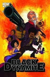 Black Dynamite 1 cover