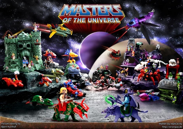LEGO He Man Masters of the Universe Poster