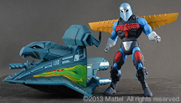 MOTUC Sky High with Jet Sled 600