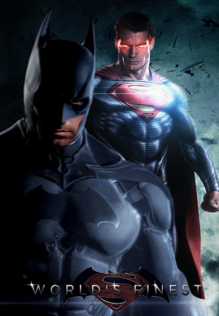 Batman VS Superman Worlds Finest Poster