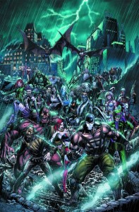 Arkham war 1 cover