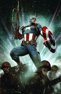 Captain America Living Legend 1 Cover