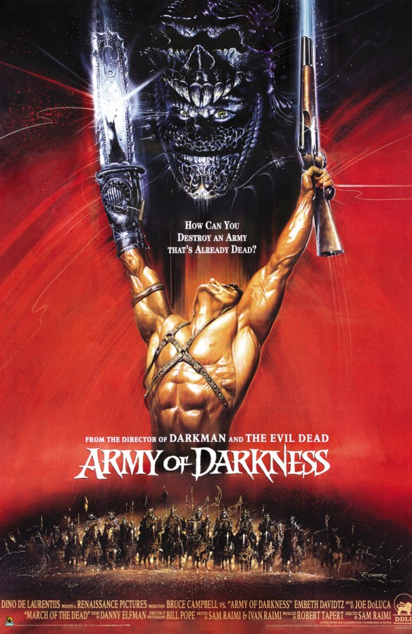 Army of Darkness painting poster