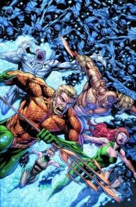 Aquaman 25 cover