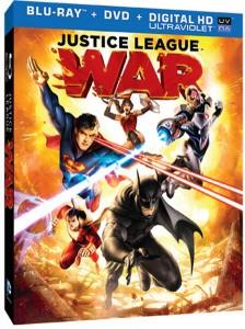 Justice League War blu-ray specs