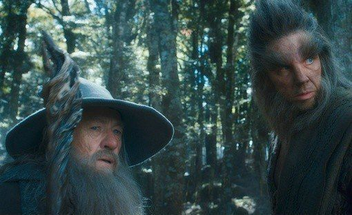 Beorn and Gandalf The Hobbit: The Desolation of Smaug