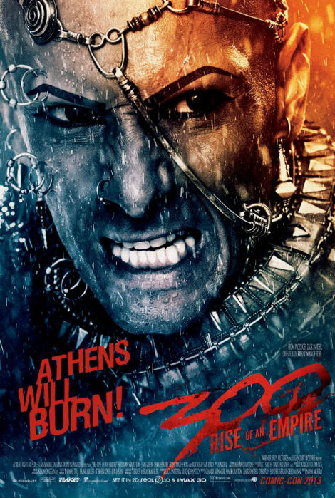 300 rise of an empire xerxes character poster