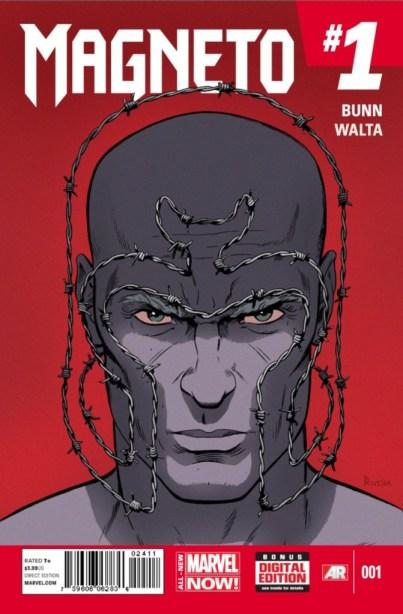 Magneto Marvel NOW cover