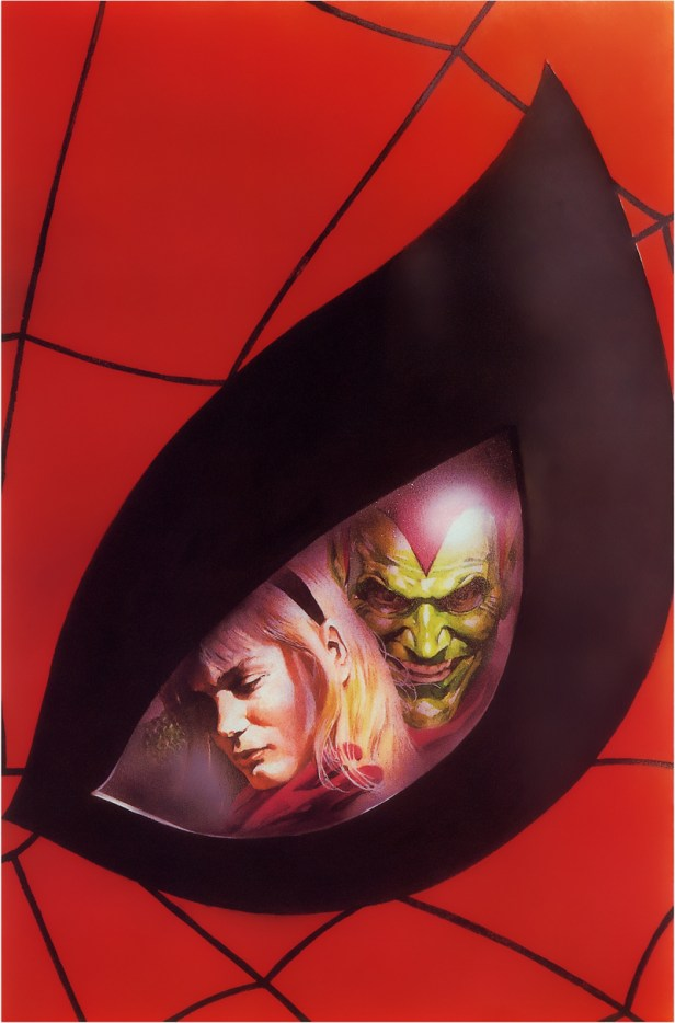 Alex Ross Green Goblin and Gwen Stacy picture