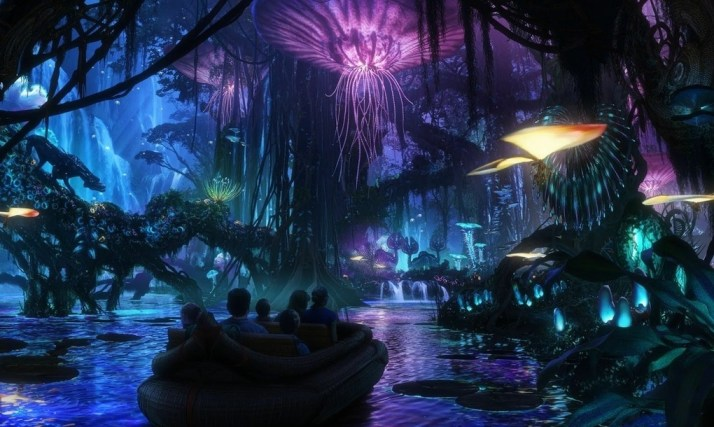 Disney Avatar Land boat ride