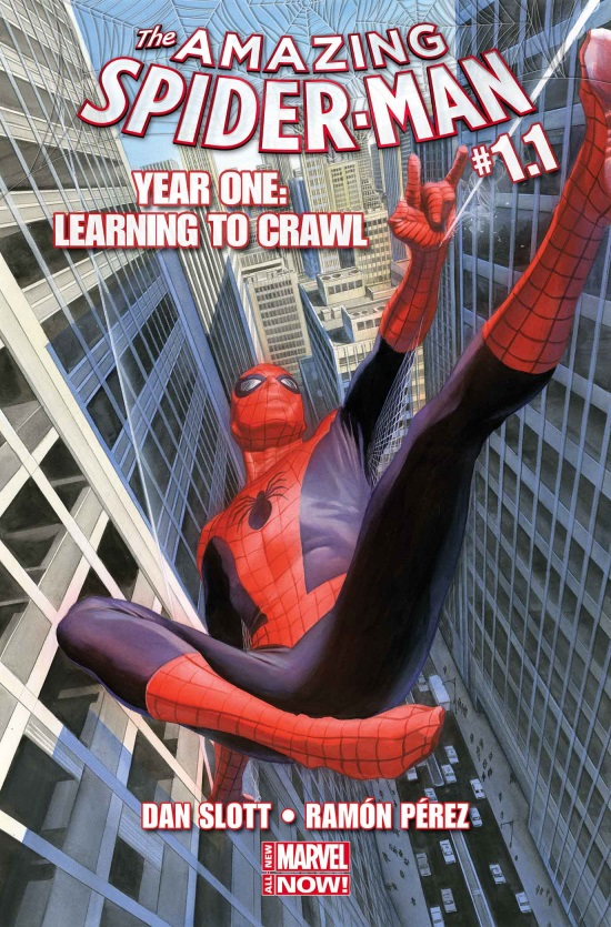 All New Marvel NOW Year One Amazing Spider Man