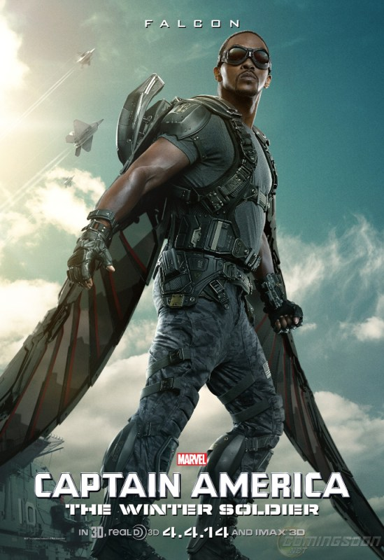 Falcon Captain America Winter Soldier