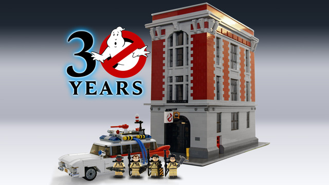 Ghostbusters 30th Lego Cuusoo