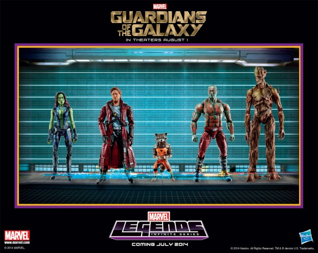 Guardians of the Galaxy Hasbro Marvel Legends