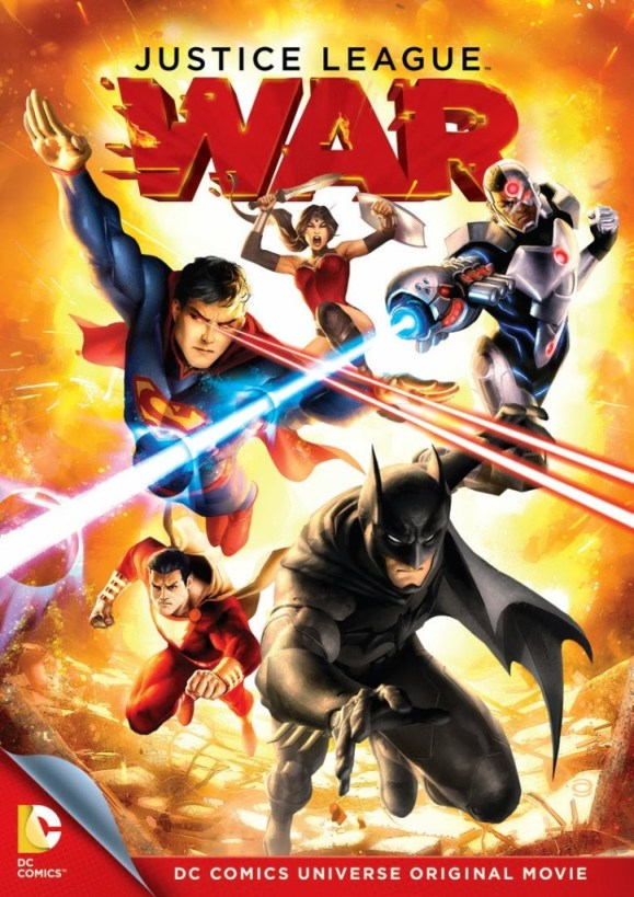 Justice League War cover art