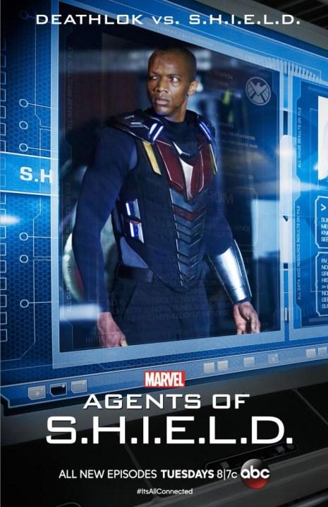 Agents of SHIELD vs Deathlok poster