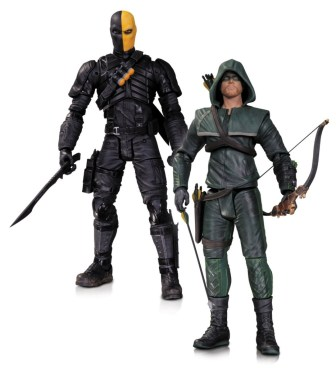 DC Collectibles Arrow 2 pack Deathstroke The Hood