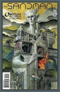 Sandman overature 2 cover